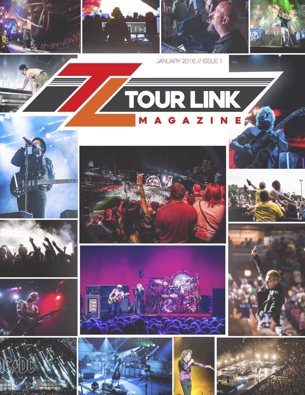 Tour Link Magazine, Issue 1