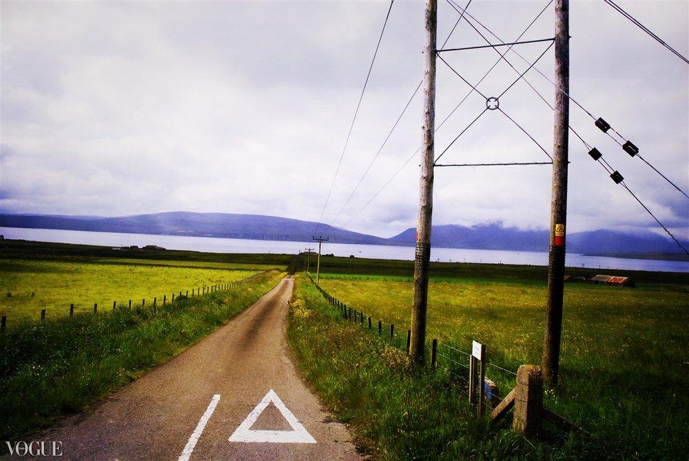 """Road on Orkney"" Orkney Isles, Scotland 2011"