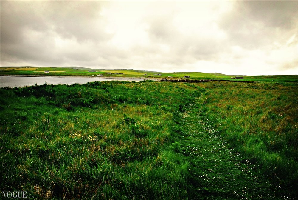"""Path to the Sea"" Orkney Isles, Scotland 2011"