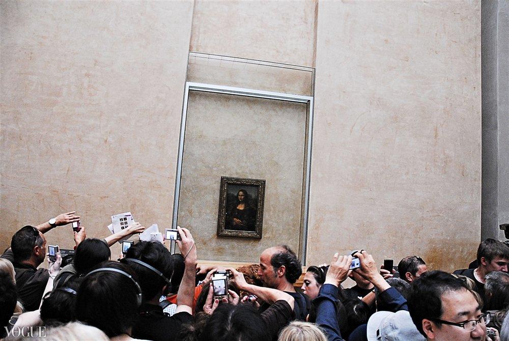 """""""Ms. Mona Lisa"""" Louvre, Paris, France 2011"""