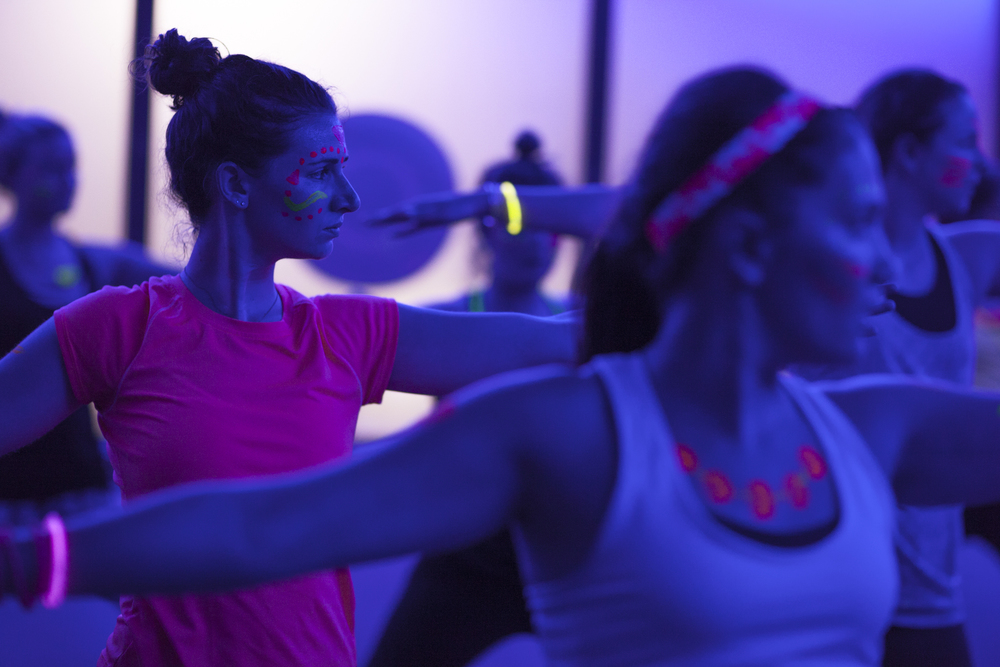boston glow yoga party