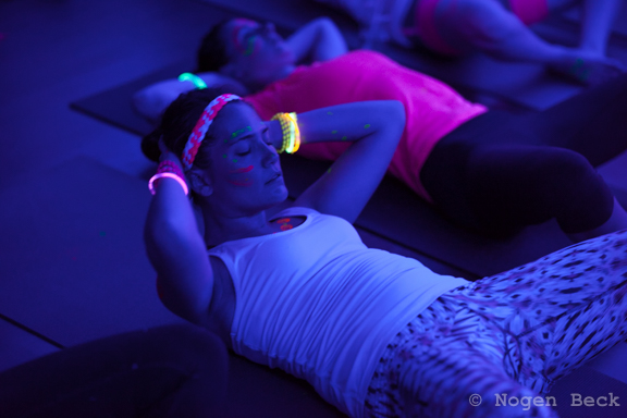 glow yoga workout