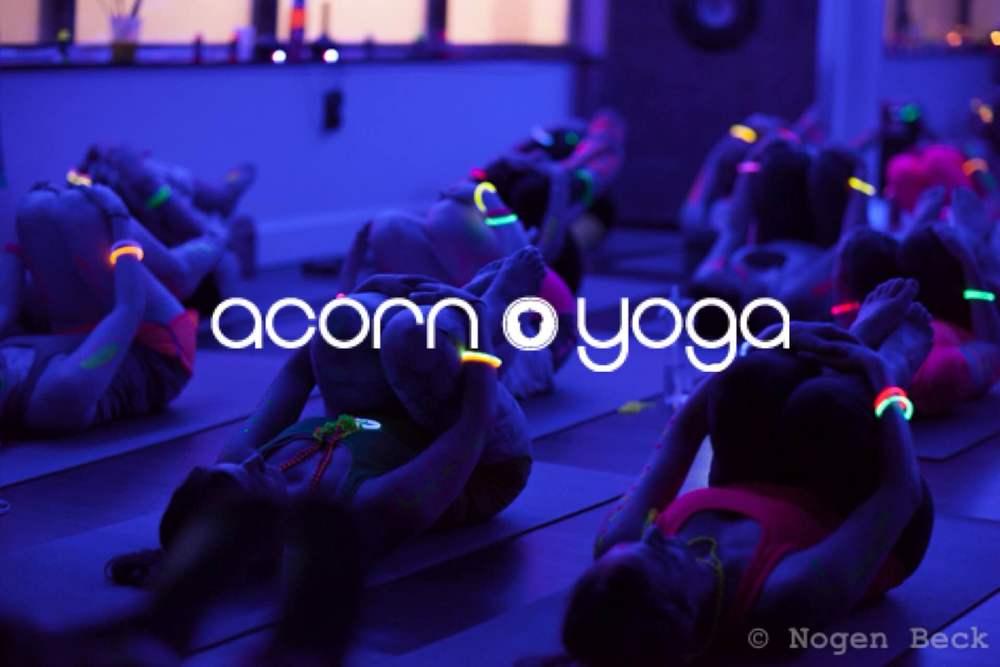 glow yoga acorn