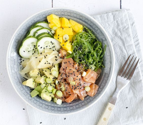 3. Poke Bowl  - If it has Poké in the name I will order it. Photo: Foodiecrush.com