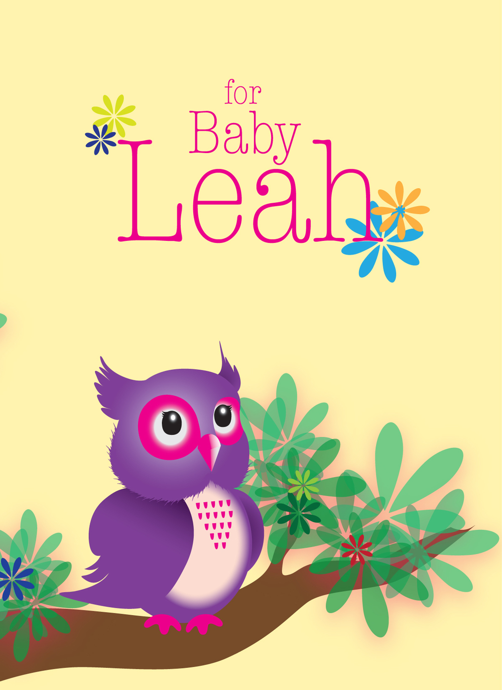 Greetings ya lan young baby shower greeting card kristyandbryce Image collections