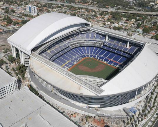 9c4099bc3a0 EXCLUSIVE  Man sues Marlins after he allegedly drives into stadium gate