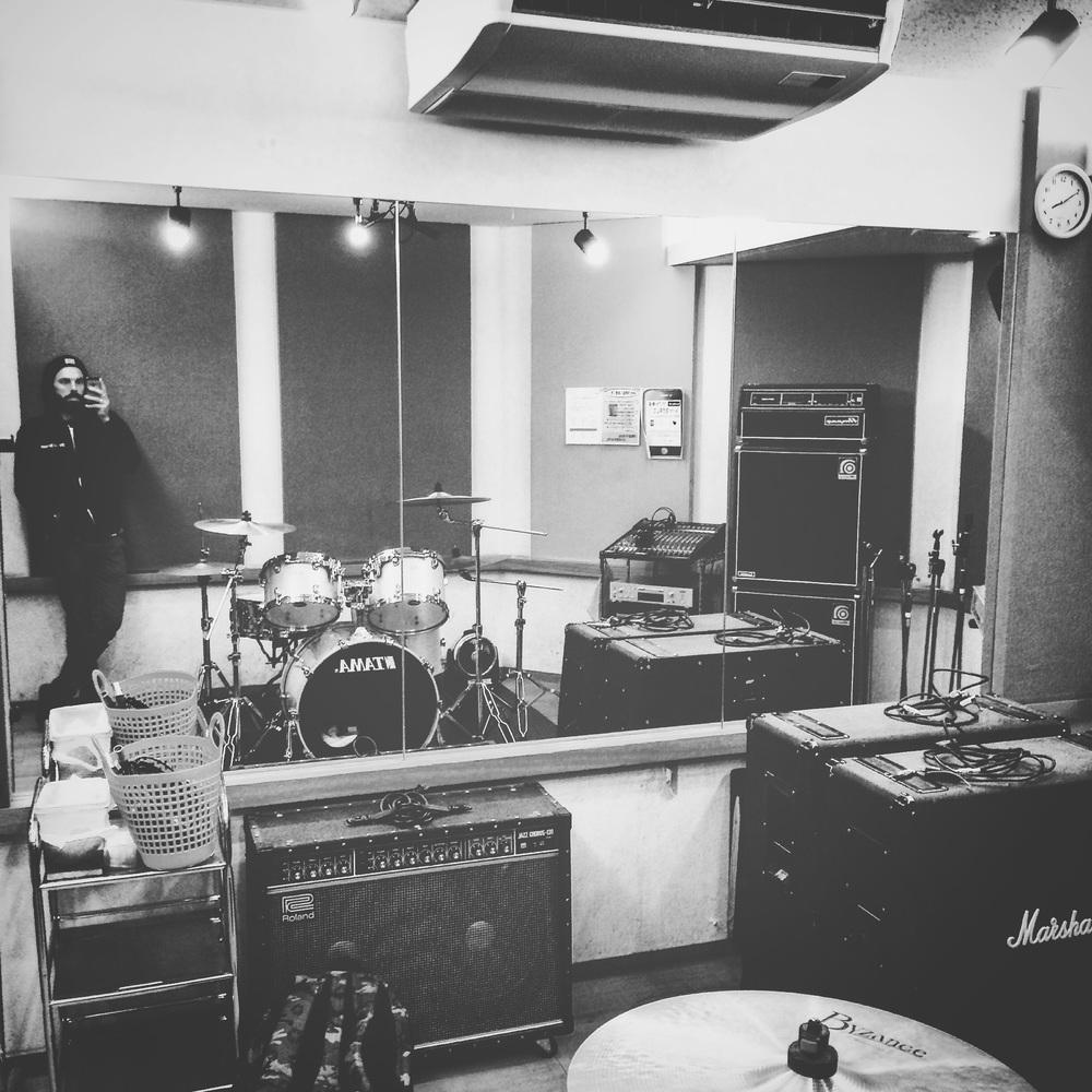 Grand Bleu Rehearsal Studio. Shibuya Tokyo, Japan