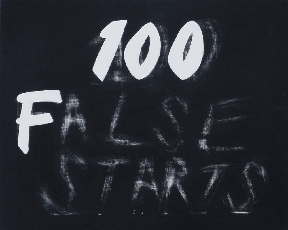 100 False Starts (Black)