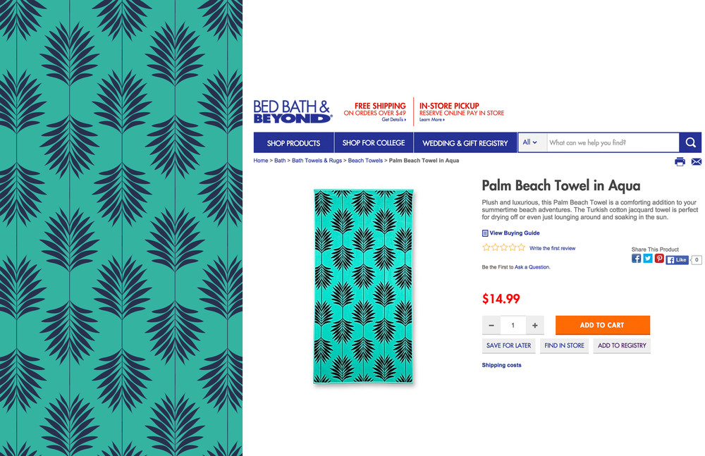 Bed Bath And Beyond Beach Towels Delectable Bed Bath Beyond Summer 60 Beach Towels Emilee Keohan