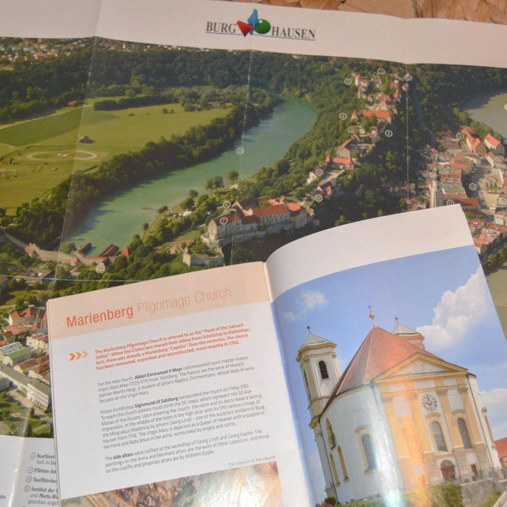 Bea and Helmut's hometown of Burghausen.