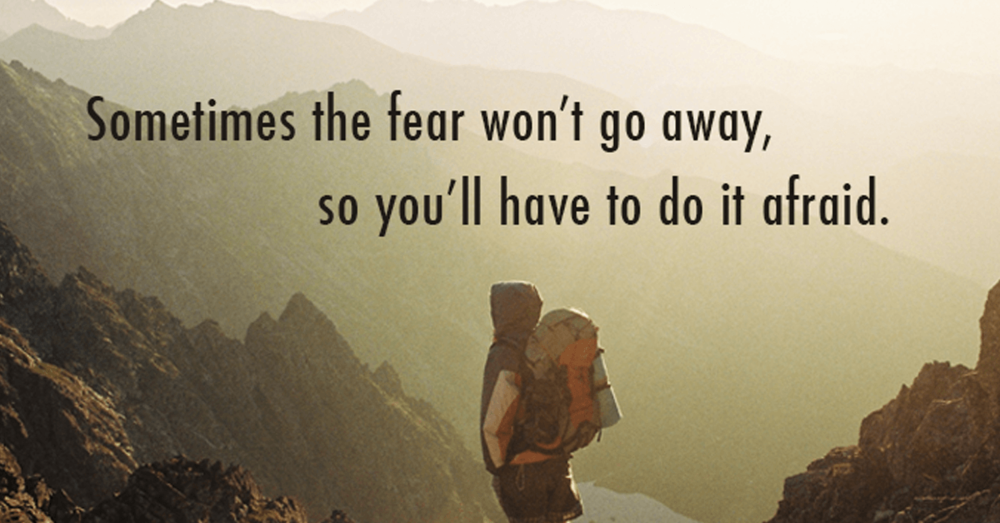 Image result for images about overcoming fear