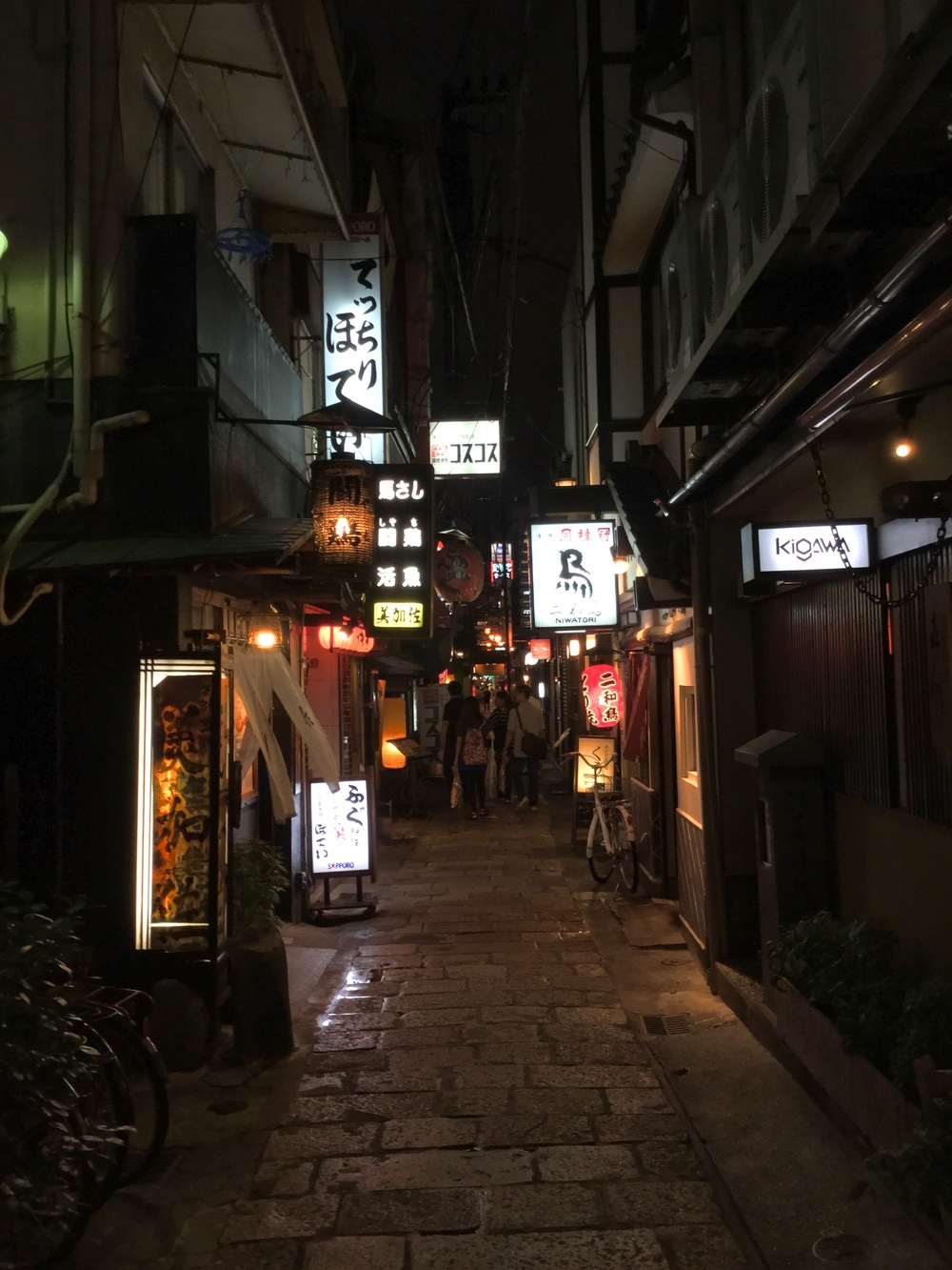 Alleyways of Osaka