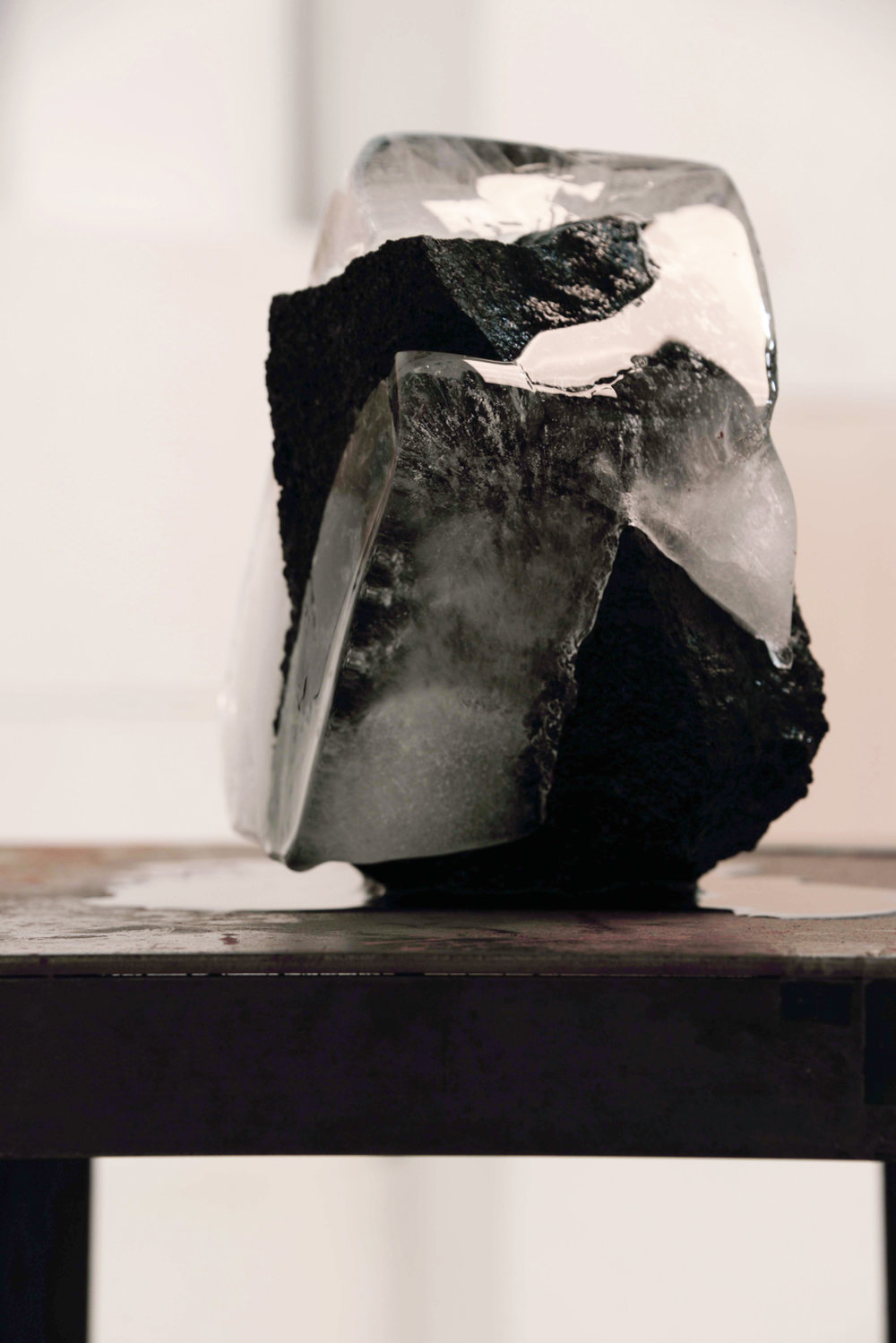 'Intermediate.', (volcanic rock and ice).