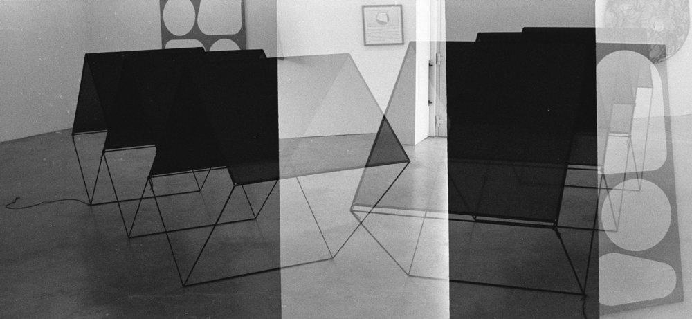 'Gallery Sculpture' (Double Exposure), Gelatin Silver Print, 3/14