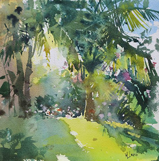 Through the Palms by Mark Lague