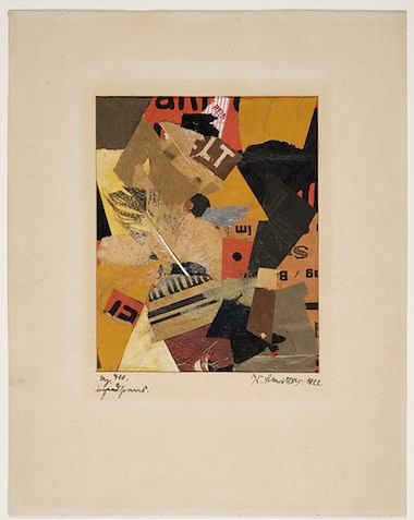"""Merz 410 Something or Other"" by Kurt Schwitters"