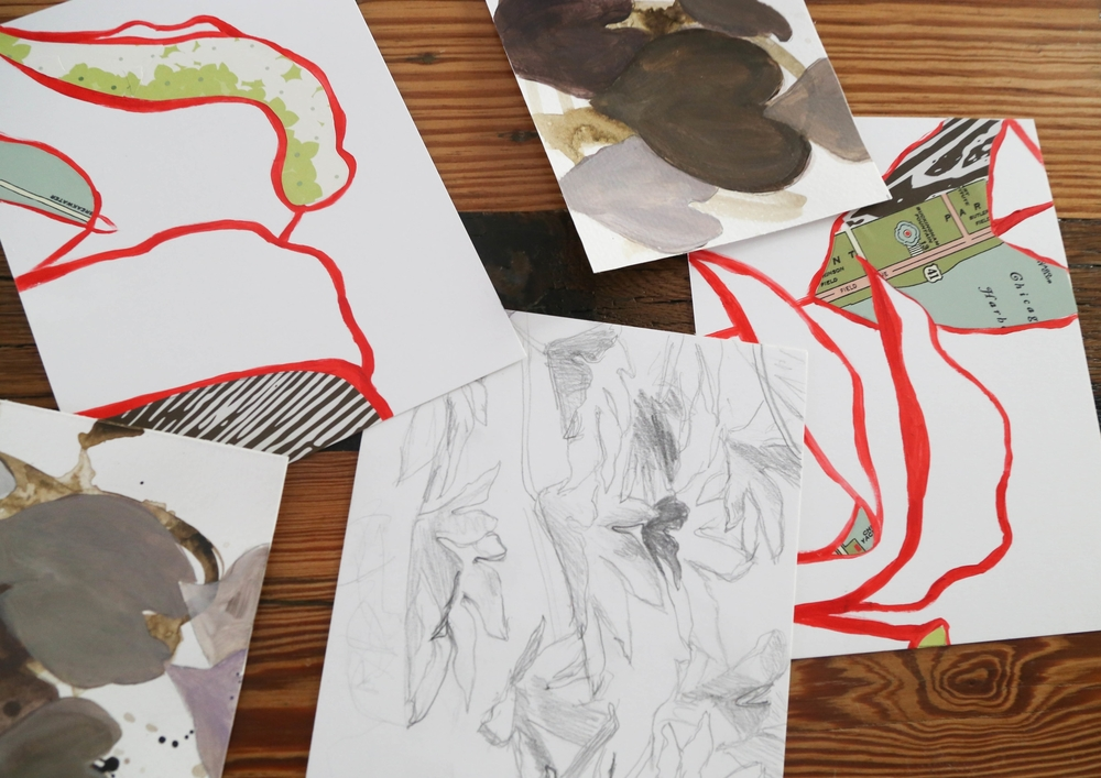 Photo of 6 x 8 studies I've done