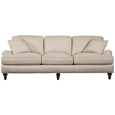 Sloane sofa   shown