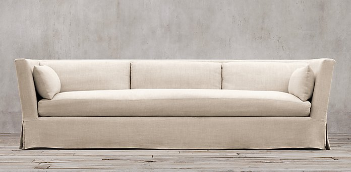 Belgian Shelter Arm Sofa   shown