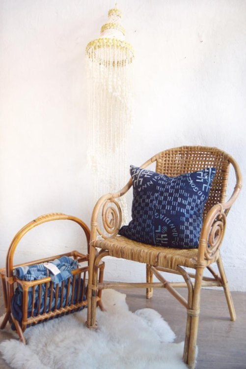 Bamboo Scroll Chair