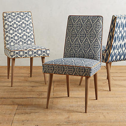 Tiled Zolna Chair