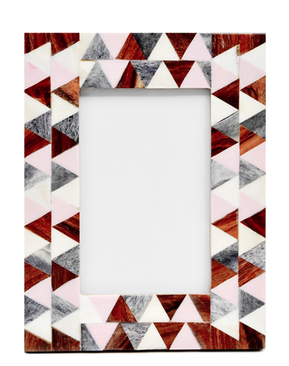 Pastel Triangle Picture Frame