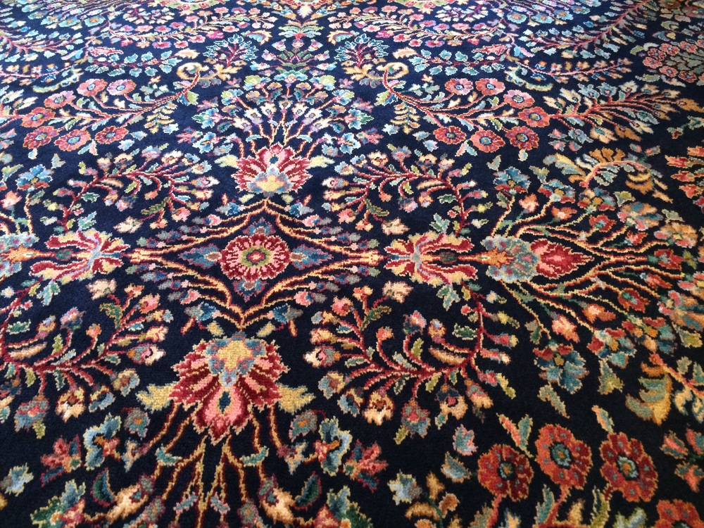 Here is a close up of the rug