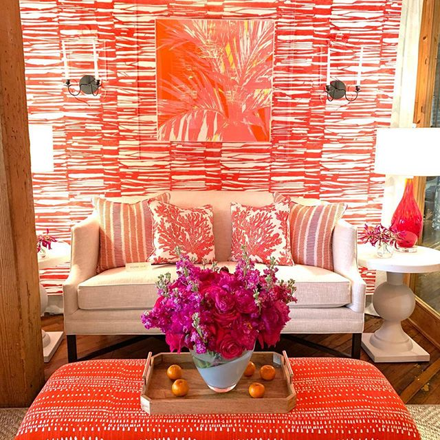 Got back from #hpmkt an hour ago and am filled with ideas, inspiration and excitement about all the great product I saw (it was like a weird vacation that didn't involve sleeping in, but instead soaking in every pretty furniture piece known to man) Meeting Erin Gates @elementstyle was probably my biggest highlight (love her new book about family style! It's clearly the most practical design book in this phase of my life)...but my second chart favorite thing about this market was was eating and resting my 32week prego belly 🤰🏼in the cute chairs in all the showrooms 🙌🏼 #missionaccomplished #didntgointolabor • • • • • • #dcinteriordesign #dcinteriors #acreativedc #igdc #interiorinspo #interiors #dcdesign #idcdesigners #homestyling #decor #interiordesign #livecolorfully #homedecor #bythings