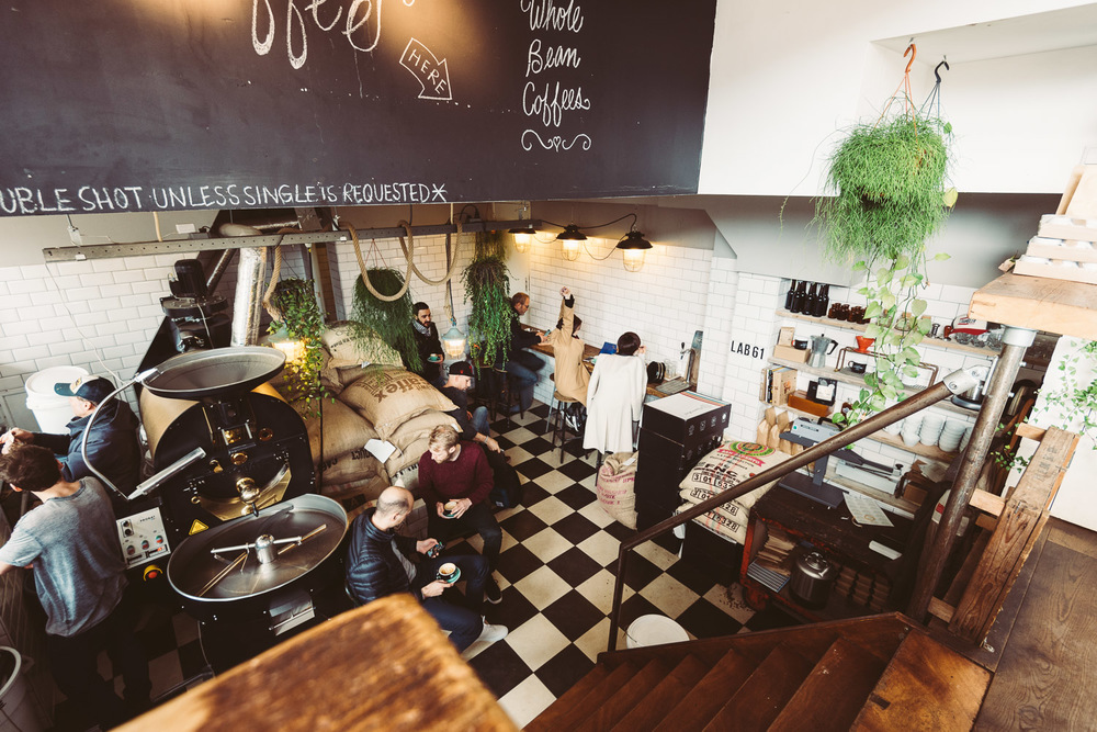 Lot Sixty One Coffee Roasters in Amsterdam - Interior 3