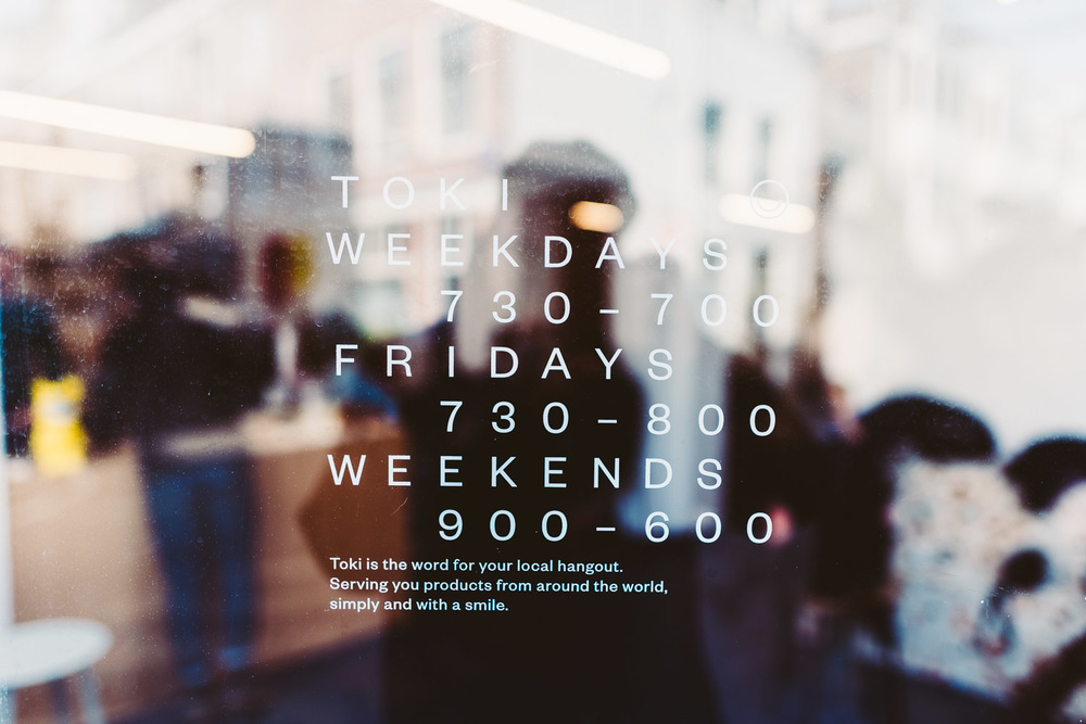 TOKI coffee shop in Amsterdam - Schedule