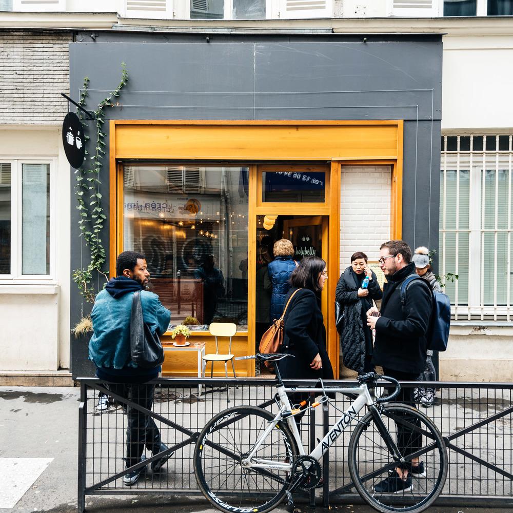 Dejeuner chez Holybelly  à Paris