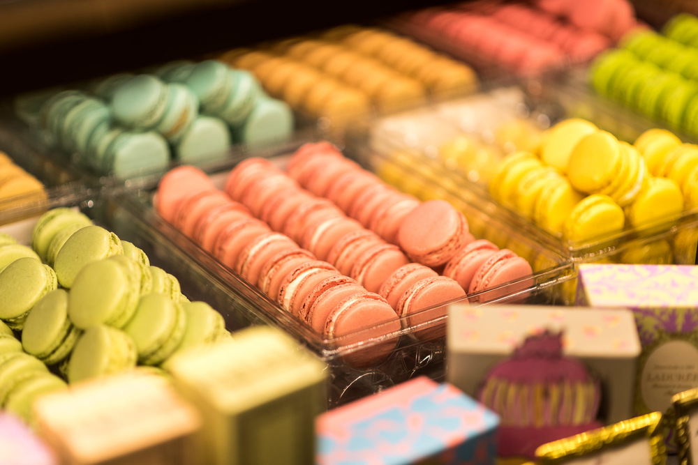 Macarons chez Laduree à Paris