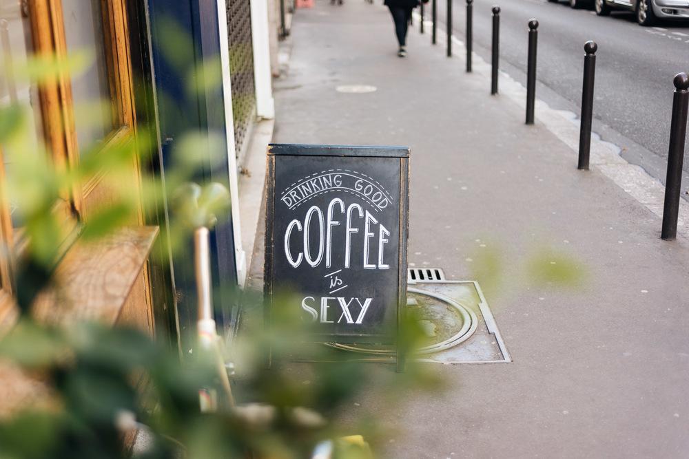 Cortado chez Ten Belles à Paris