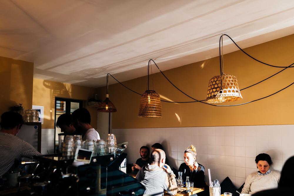 Double Espresso chez Oberkampf Café à Paris