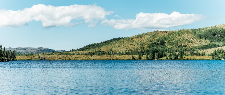 Panorama réalisé en plein milieu du lac Arthabaska - Toutes les photos sont sous Copyright © 2016 Jeff Frenette Photography / dezjeff. Pour utilisation des photos, me contacter au dezjeff@me.com