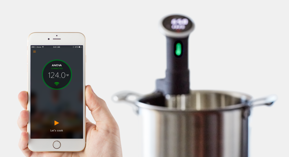 If you're looking for the ultimate foodie gift, try this precision cooker by Anova. Thermocirculator cuisine is the thing right now everyone raves about - FOODIE GIFT IDEAS - THE ULTIMATE GIFT LIST FOR MODERN MEN