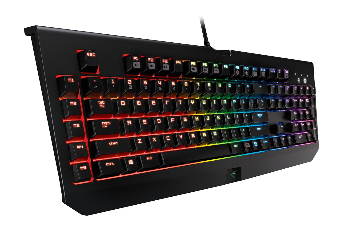 Razer BlackWidow Chroma Clicky Mechanical Gaming Keyboard - Fully Programmable and 5 Macro Keys - GAMING GIFT IDEAS - THE ULTIMATE GIFT LIST FOR MODERN MEN