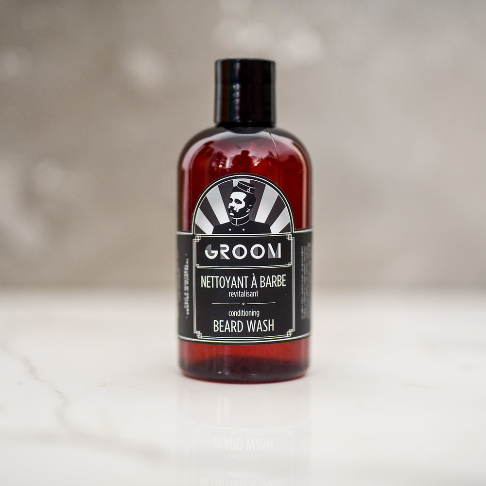 BEARD WASH BY GROOM - GROOMING GIFT IDEAS - THE ULTIMATE GIFT LIST FOR MODERN MEN