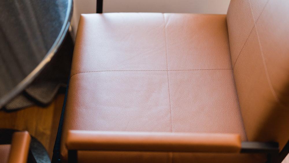 Détail fauteuil coin bureau de la Chambre Bobo -Toutes les photos sont sous Copyright © 2017 Jeff Frenette Photography / dezjeff. Pour utilisation des photos, me contacter au dezjeff@me.com