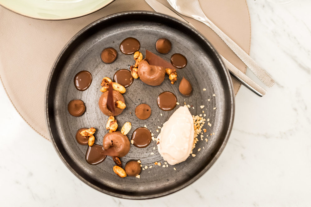 Sabayon de chocolat noir au ORIGIN Restaurant -Toutes les photos sont sous Copyright © 2017 Jeff Frenette Photography / dezjeff. Pour utilisation des photos, me contacter au dezjeff@me.com