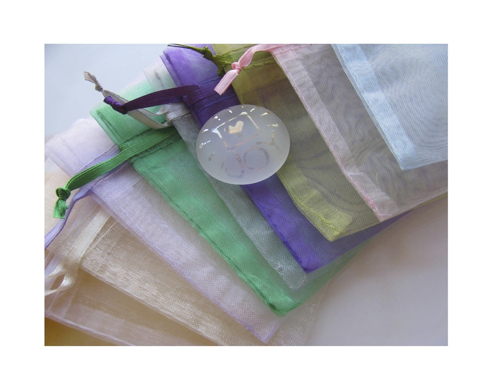 Sheer Organza Bag color examples.
