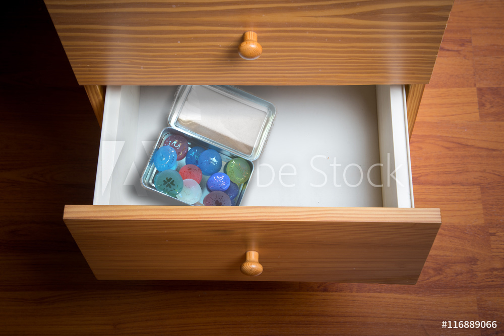 Thoughtful gift photo vs drawer