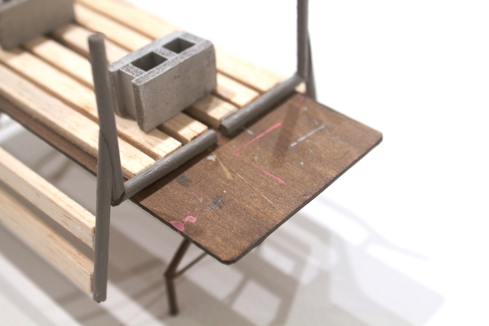 Folding Table (detail)