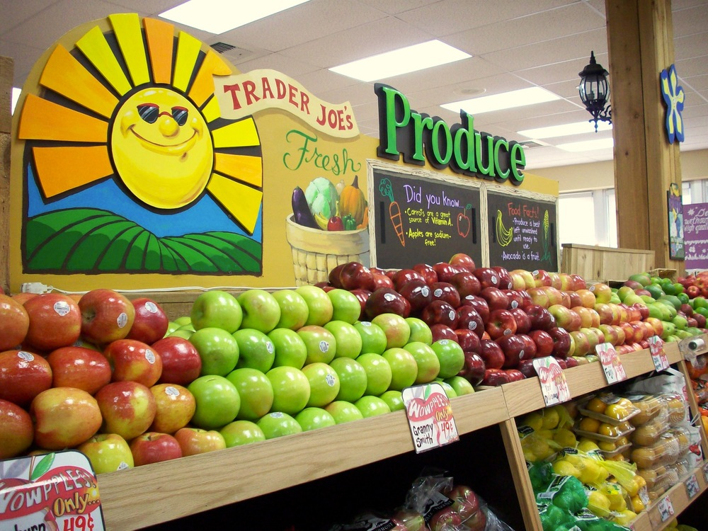 Trader Joe's Produce Display