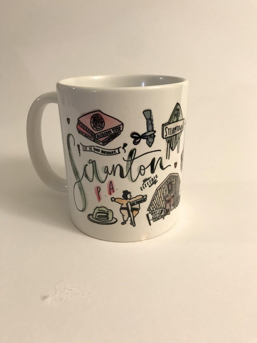 The office coffee mug Etsy Pa The Office Coffee Mug Img6198jpg Signet Sealed Scranton Pa The Office Coffee Mug Signet Sealed