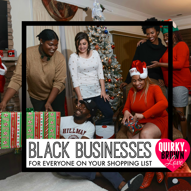 The ULTIMATE Black Business Gift Guide For Everyone on Your Shopping List (Over 500 Ideas!), from  QuirkyBrownLove