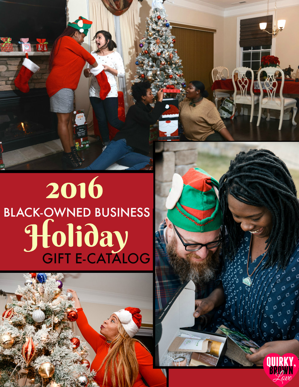 2016 Black Business Holiday Catalog from  QuirkyBrownLove