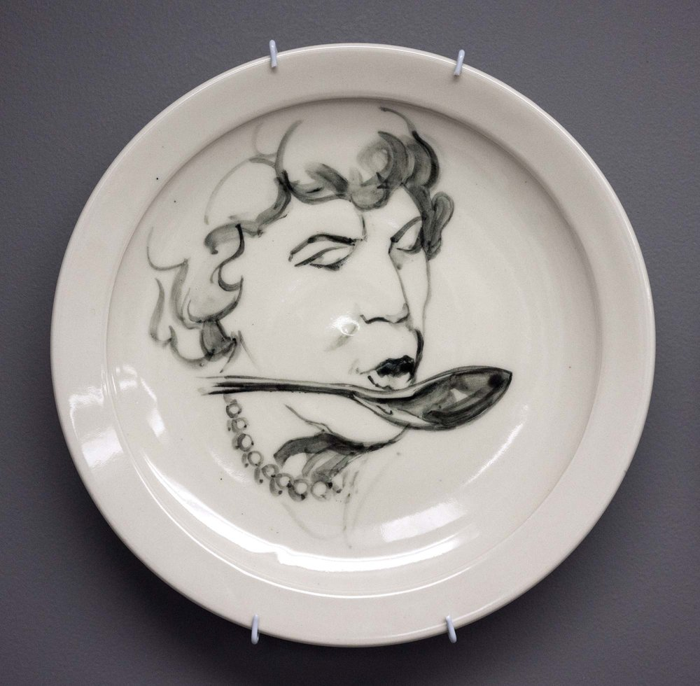 Collaborative Plate: Julia Child