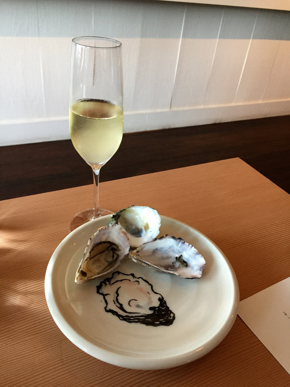 Oyster Plates At Saltwater
