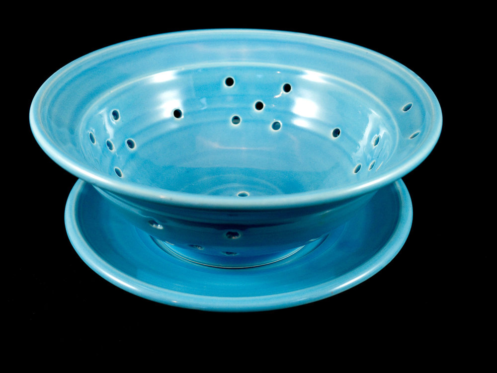 Berry Bowl (With Plate)